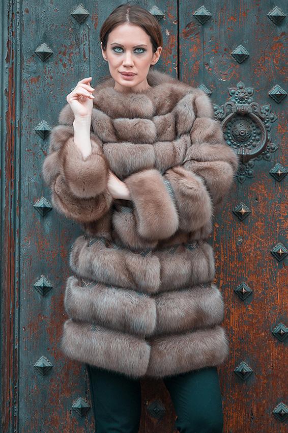 Cappotto in zibellino